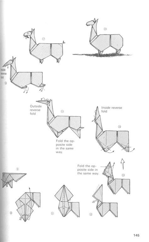 Llama Origami - origami llama by chiyaniwatori on deviantart