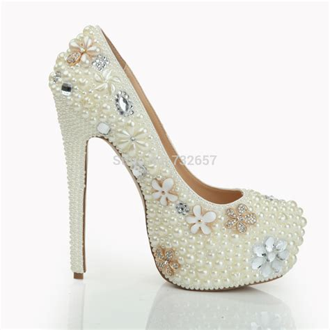 diamante wedding shoes bridesmaid bridal shoes beige - Beaded Wedding Shoes