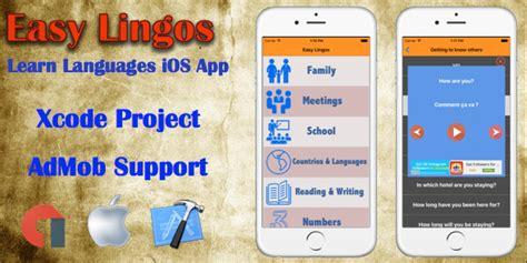 xcode app templates free easy lingos ios xcode app template educational app