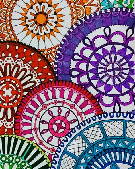 mandala coloring book markers 372 best my coloring pages mandalas colored by judy soto