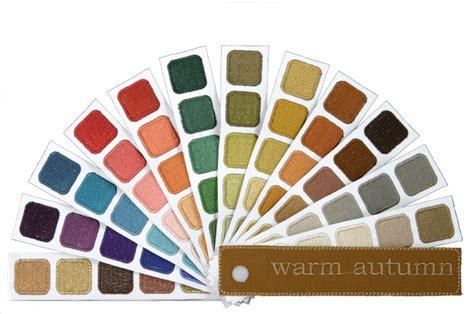warm autumn color palette share