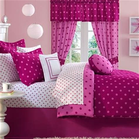 jcpenney girls bedding dot2dot raspberry sheet set jcpenney cute bedding