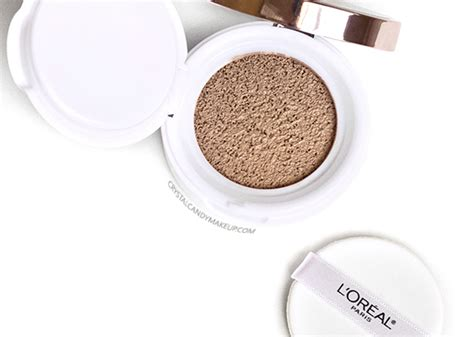 Lipstik Cushion Seri 4 makeup review swatches l or 233 al true match lumi cushion foundation