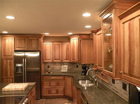 are kraftmaid cabinets good quality kraftmaid hickory kitchen cabinets kitchen pinterest