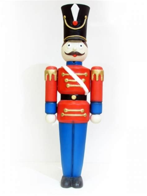 large nutcracker soldier prop winter wonderland party