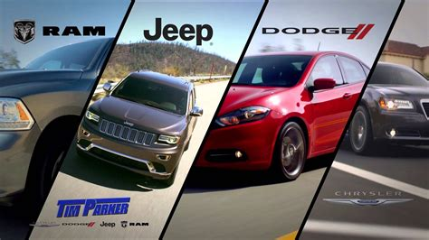 jeep dodge chrysler ram tim parker chrysler jeep dodge ram dealer youtube