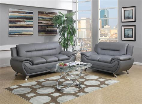 Living Room Sofa Set Grey Contemporary Living Room Set Living Room Sets