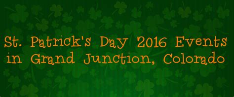 st s day 2016 st s day 2016 events in grand junction co