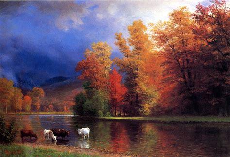 paintings by albert bierstadt description bierstadt albert on the saco jpg