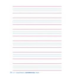 Blue Red Blue Writing Paper Handwriting Aids Related Keywords Amp Suggestions