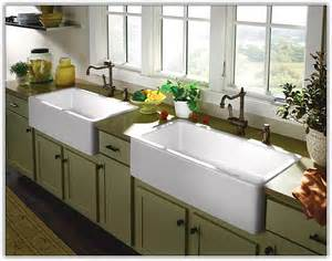 top mount farmhouse sink home design ideas