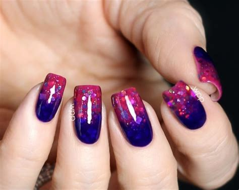 Nail Ideas 2016 by 40 Glittering Nail Ideas For Summer 2016 Stylishwife
