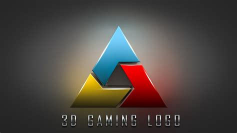 design logo photoshop youtube how to make 3d gaming logo design photoshop cc tutorial