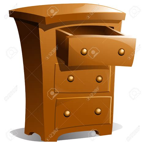 photo drawer furniture clipart chest drawer pencil and in color