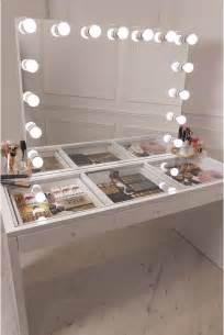 White Vanity Table With Lights Best 25 Makeup Vanity Mirror Ideas On Diy