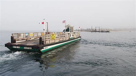 Chappaquiddick Ferry Hours Chappy Ferry Will Suspend Vehicle Service For Emergency