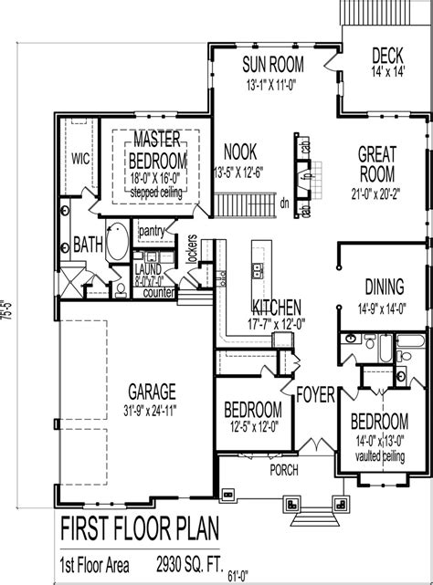simple rectangular house plans free floor plan maker with architecture kerala three bedroom two storey house plan