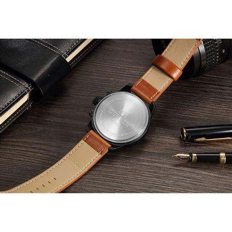Jam Tangan Mk 4 curren jam tangan analog pria mk54 yellowish