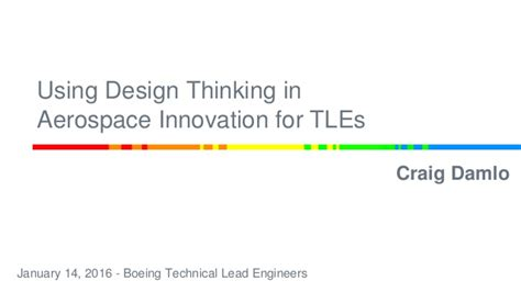 using design thinking to put the focus on employees sap blogs using design thinking in aerospace innovation for tles