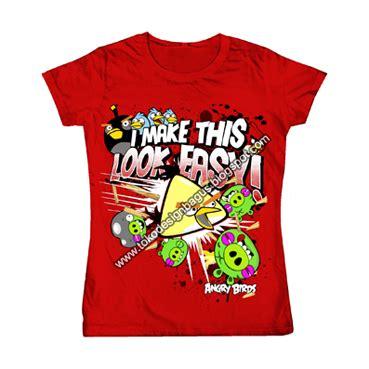 T Shirt Kaos Distro Bird angry bird for desain kaos desain t shirt desain
