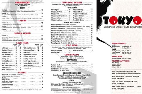 house of japan menu house of japan menu to go menu 171 tokyo japanese steak house and sushi bar