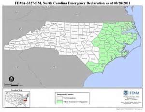 Google Maps North Carolina Usa by North Carolina Hurricane Irene Fema Gov