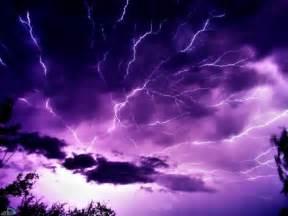 Purple Lightning Purple Lightning And Clouds Pixdaus