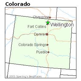wellington colorado map best places to live in wellington colorado