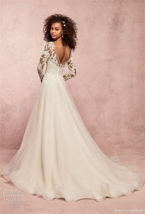 rebecca ingram spring  wedding dresses wedding inspirasi