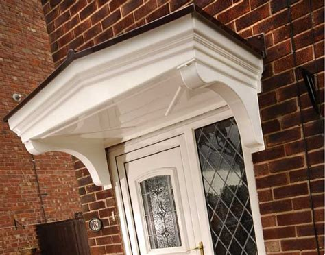 enhance the entrance of any building with a door canopy