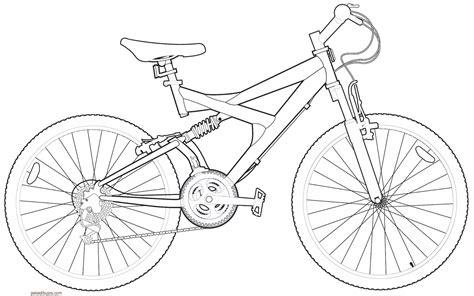 imagenes para colorear bicicleta bicicleta para colorear www imgkid com the image kid
