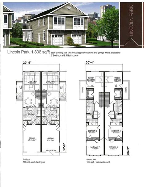 williston park ranch fourplex plan 072d 0739 house plans fourplex house plans fourplex townhouse house plan