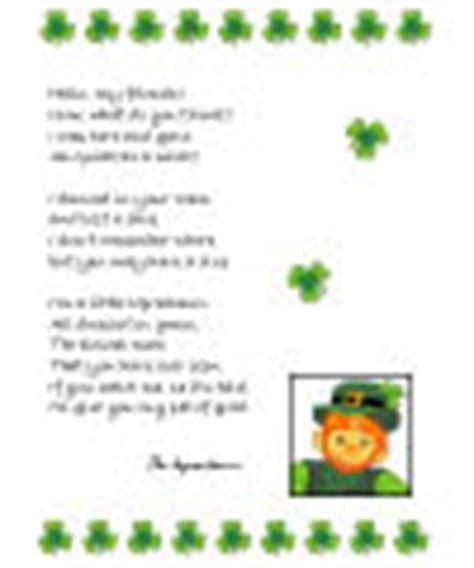 free printable letters from leprechaun st patrick s day preschool crafts activities and games