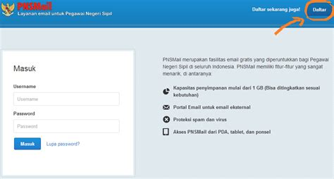 membuat email com cara mudah membuat email khusus untuk pns di pnsmail