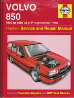car repair manuals online free 1996 volvo 850 electronic throttle control 1992 1996 volvo 850 haynes repair service manual