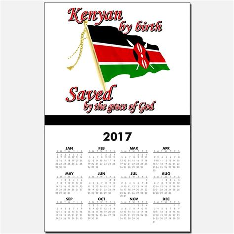 Kenya Calendã 2018 Kenya Calendars Kenya Calendar Designs Templates For