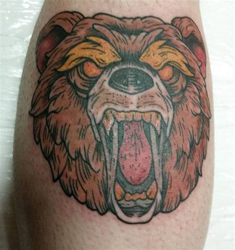 traditional bear tattoo 25 best ideas about traditional on