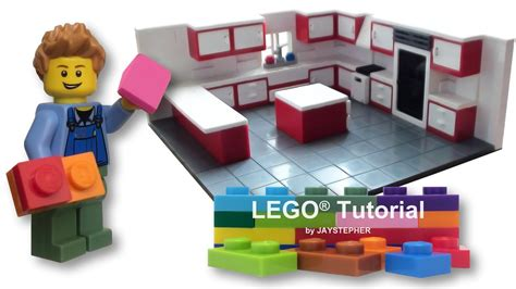 lego kitchen island how to build a lego gourmet kitchen tutorial building