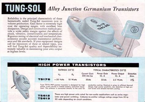 transistor history transistor museum early germanium power transistor history by joe tung sol page 3