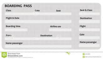 airplane boarding pass template boarding pass royalty free stock photography image 20413937