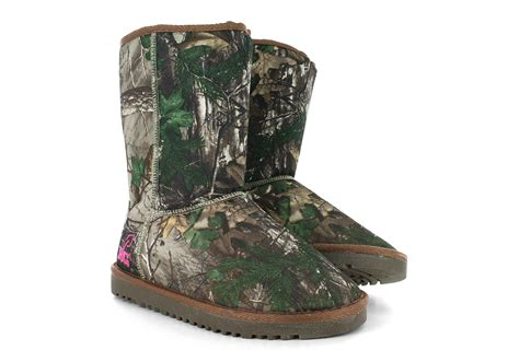 camo boot slippers pink camo ugg boots for womens