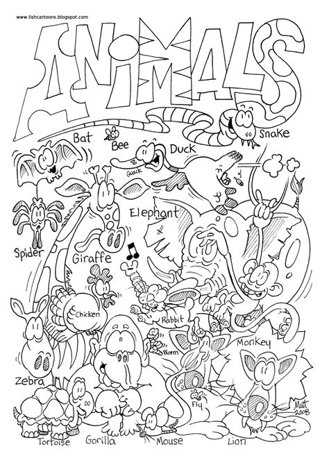 zoo animals coloring pages 14 animal pictures to color