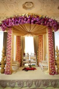 Shaadi Decorations Indian Wedding Mandap Floral Mandap