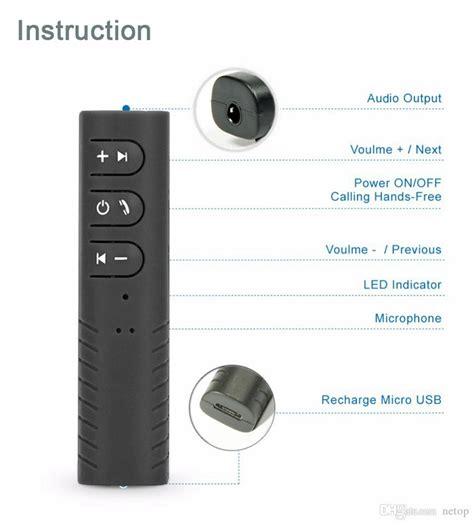Sale Bluetooth Receiver Bt 1 retail sale bt 301 mini bluetooth receiver car aux audio