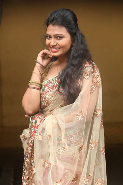 photos of heroine in saree new telugu heroine neha photos in saree