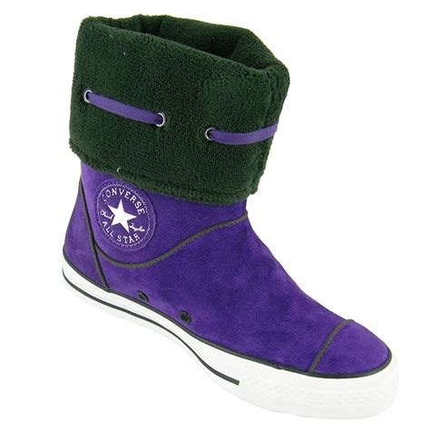 converse purple all andover suede s boot