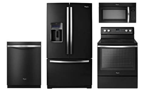 whirlpool black ice whirlpool gold black ice appliance package with electric