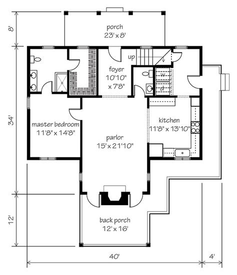 sl house plans garden home cottage southern living house plans