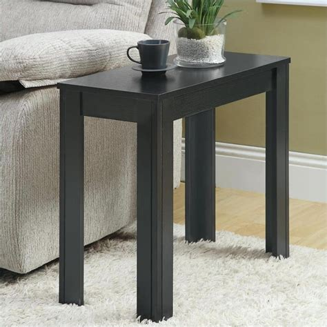 Black End Tables Accent End Table In Black Oak I 3110