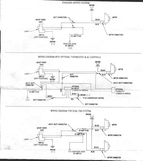 electric fan motor wiring diagrams get free image about